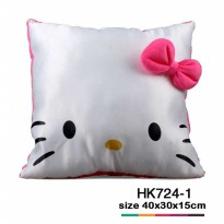 Bantal kotak satin Hello Kitty HK724-1 SJ0034
