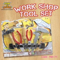 MAINAN ANAK TUKANG TOOL SET WORKSHOP MIN-71