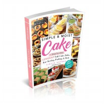 Buku Simple Dan Moist Cake : Resep Hits di Instagram Tintin Rayner