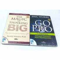 Paket The Magic Of Thingking Big  Go Pro. David JSchwartz. Eric Worre