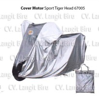 Sarung Cover Motor TIGER HEAD Big Jumbo Size Anti Air Ninja NMax CBR