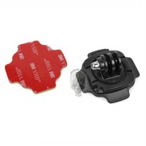 TMC 360 Degree Mount for GoPro / Xiaomi Yi / Xiaomi Yi 2 4K - HR107 - Black