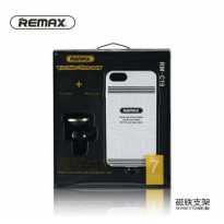 Car Holder with Casing iPhone 7 Plus Remax