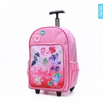 Tas Sekolah My Little Pony The Movie Trolley 16 inch Adinata Perempuan