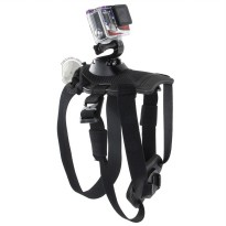 TMC GoPro Fetch Dog Harness Camera Mount for GoPro / Xiaomi Yi / Xiaomi Yi 2 4K - HR271 - Black
