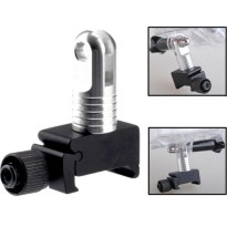 TMC Super Mini Rail Mount 20mm for GoPro 2 / 3 / 3+ & Xiaomi Yi / Xiaomi YI 2 4K HR55 - Black
