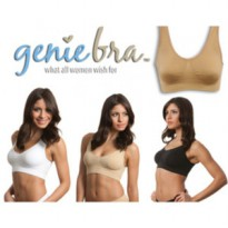 Genie Bra With Pads ( 1 Box isi 3 set)