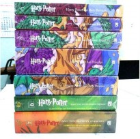 Segel Baru Harry Potter Fullset 1-7  J K Rowling Novel Asli Gramedia