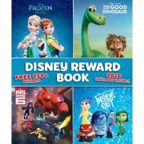 Disney Reward Book 2016 Calender - Buku Anak Sticker Star Chart