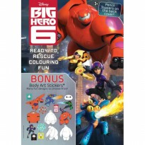 Big Hero 6 - Ready to Rescue Colouring Fun - Buku Mewarnai Anak