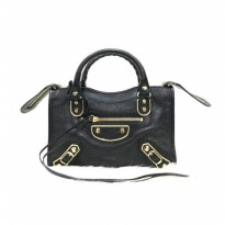 [PROMO] BALENCIAGA MINI CITY EDGE BLACK GHW MILA