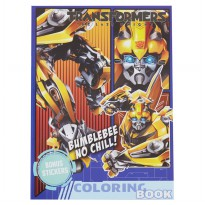 Transformers Coloring Book Large (Bummblebee No Chill)