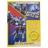 Transformers Coloring Book Large (Autobots Battle On)