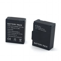 Battery Replacement 1680mAh for GoPro HD Hero 3 - AHDBT-301/302 - Black