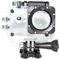 Underwater Waterproof Case IPX68 40m for SJCAM SJ4000 Button Top - Transparent