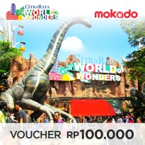 E-TICKET CITRA RAYA WORLD OF WONDERS: WEEKEND (Tidak Berlaku Periode 18 Des 2017 s/d 07 Jan 2018)