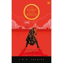 Baru Buku The Lord Of The Rings The Return of The King JRR Tolkien