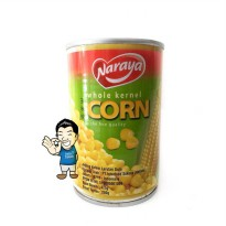 Naraya Whole Kernel Corn Canned/ Jagung kupas kaleng- 425g