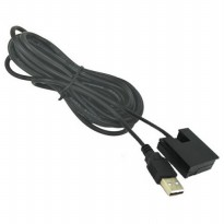 Gopro 3 Dummy Battery Eliminator Adapter USB Cable Power - Black