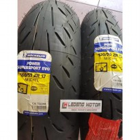 Ban Sepasang Front 120/70-17 Rear 180/55-17 Michelin SuperSport Evo