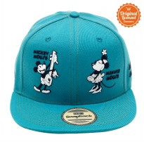 Topi Hiphop Green Mickey Minnie