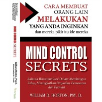 Buku Mind Control Secrets . William D. Horton, Psy. D