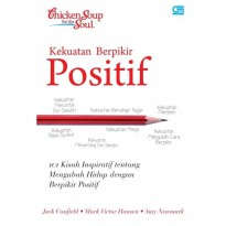 Buku Chicken Soup For The Soul:Kekuatan Berpikir positif.Jack Canfield