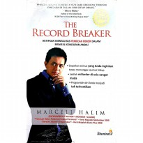 Buku Black Book The Record Breaker. Marcell Halim