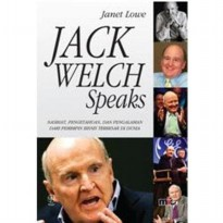 Buku Jack Welch Speaks. Janet Lowe