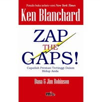 Buku Zap The Gaps. Ken Blanchard