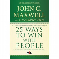 Buku 25 Ways to Win with People. John C Maxwell