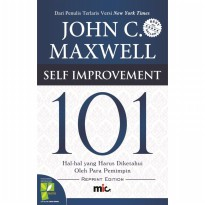 Buku Self Improvement 101 HC . John C. Maxwell