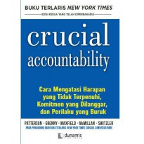 Buku Crucial Accountability. Kerry Peterson, Joseph Greeny