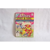 Komik Warna Archies Story and Game Digest Magazine. Import. English
