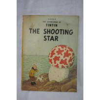 The Adventures of Tintin and the Shooting Stars. Methuen. Herge. Engli
