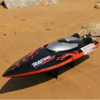 FT010 2.4G Racing Boat 35KM/H High Speed Auto-Flip Over 65CM RC Yacht