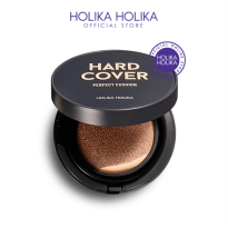 Holika Holika Hard Cover Perfect Cushion Set (Free Refil + Puff)