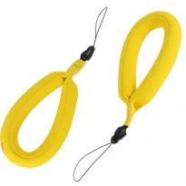 Waterproof Camera Hand Wrist Lanyard Float for Xiaomi Yi / Xiaomi Yi 2 4K / GoPro - Yellow