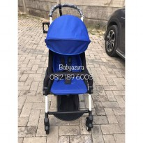 STROLLER YOYA BLUE YOYA BIRU FREE FOOTREST ORIGINAL NEW BORN 175
