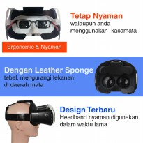 VR Box 2 + T3 with Magnetic Button, Cardboard virtual reality glasses
