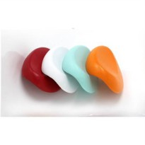 [globalbuy] 4 color Bathroom supplies bathtub pillow bath headrest suction cup waterproof /1659087