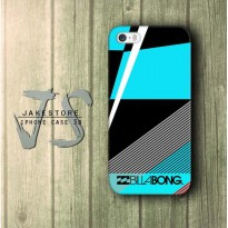 Billabong Surfing Logo Stripe Blue iPhone Case, Casing HP, Casing iPhone , tersedia Type 4 4s 5 5s 5c