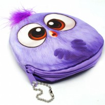 Dompet Koin Kain Model Kartun - Purple
