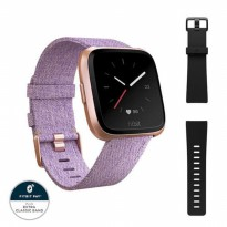 Fitbit Versa Watch - Lavender Woven One Size (S & L)