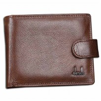 Qianxilu Dompet Pria Model Short - Brown