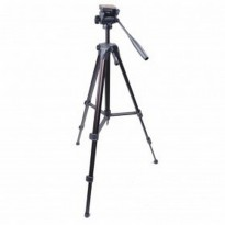 DISKON Weifeng Portable Lightweight Tripod Video & Camera with 3-Way Head