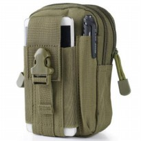 Tas Pinggang Mini Tactical Army Look - Army Green