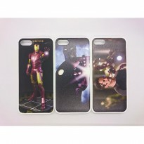 Hard Case Cover Tema Iron Man untuk iPhone 5