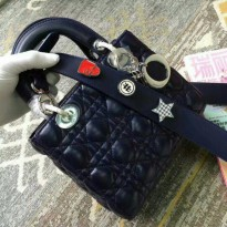 [PROMO] NEW LADY DIOR ORIGINAL LEATHER 20X18CMRP 3.850.000,-