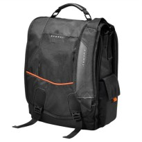 Everki EKS620 Urbanite Laptop Vertical Messenger Bag, Fits up to 14.1-inch - Black
